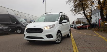 FORD Tourneo Courier 1.0 EcoBoost 100 KM, Titanium, Manual 6 2019R.